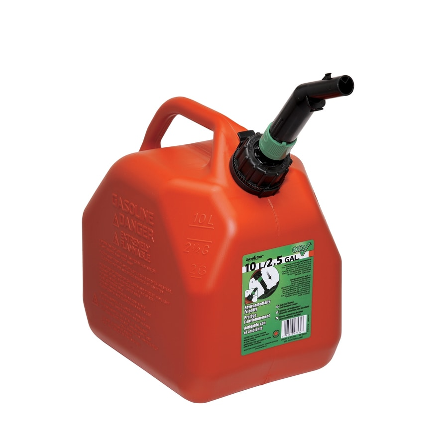 Scepter 2.5-Gallon Plastic Gasoline Can