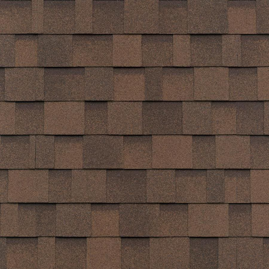 Good IKO Cambridge 33.3 Sq Ft Dual Brown Laminated Architectural Roof Shingles