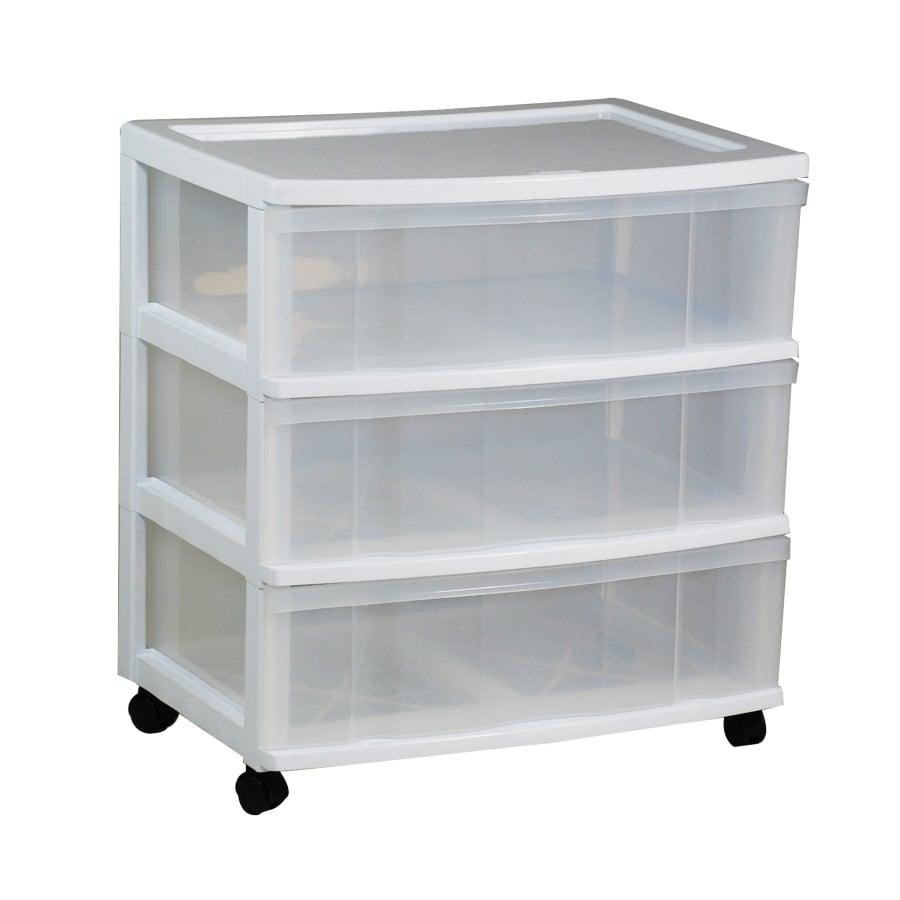 Gracious Living  Drawer Resin Storage Cart