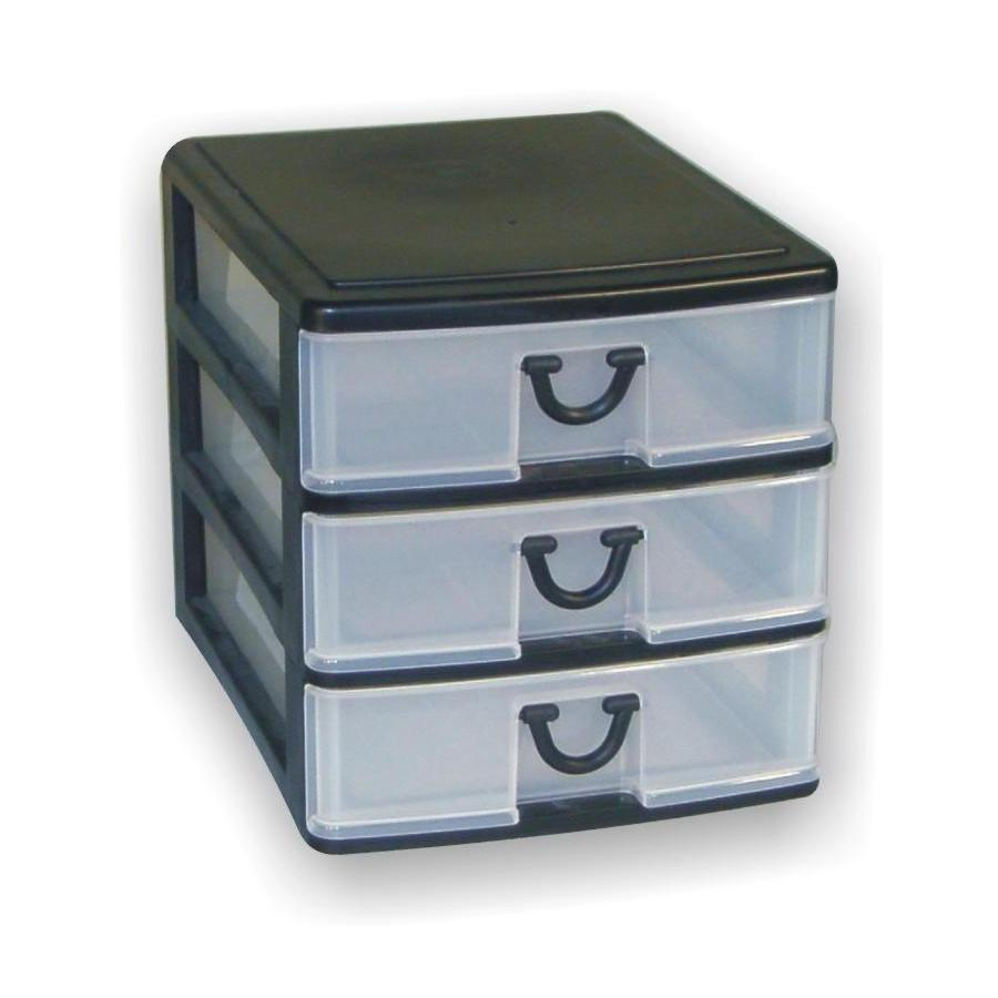 Gracious Living 3 Drawer Desktop Organizer