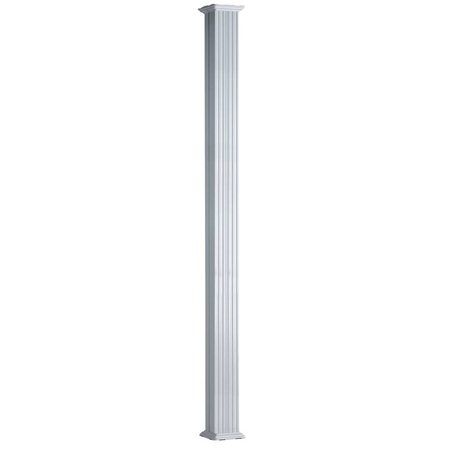 6-in x 8-ft Unfinished Aluminum Round Column