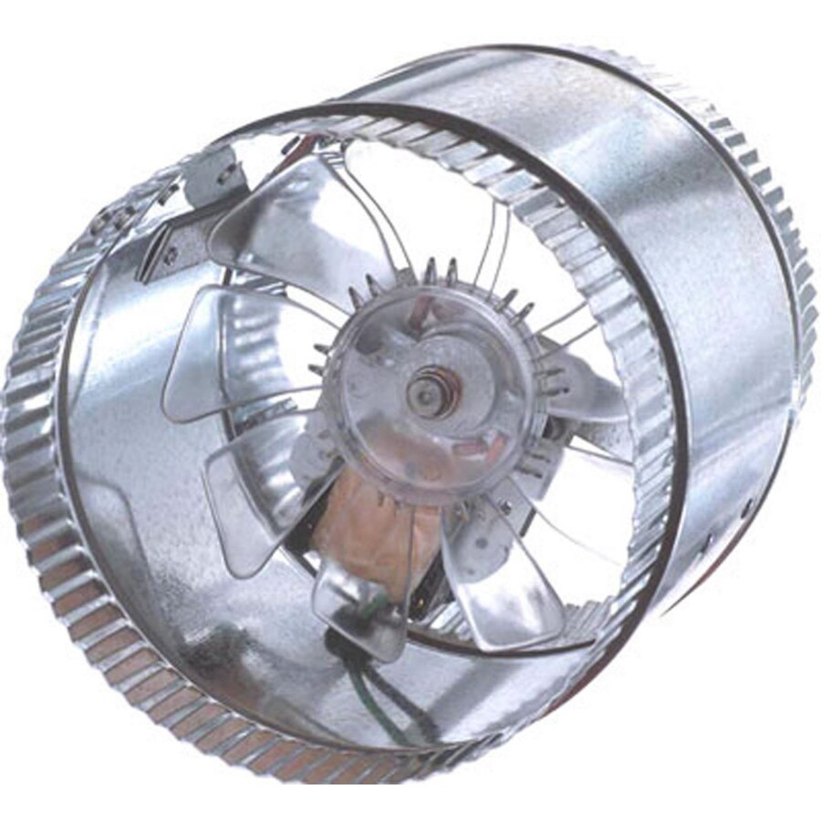 SUNCOURT Inductor In-Line Duct Fan 6-in Dia Galvanized Steel Axial Duct Fan