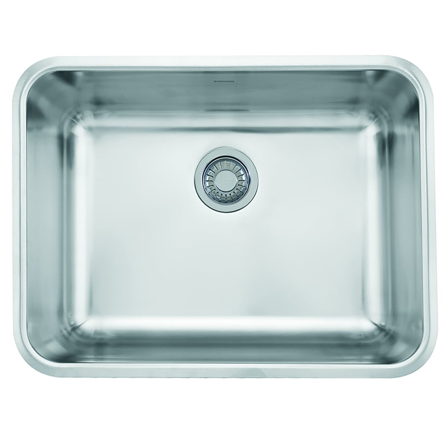 Franke Grande 18.75-in x 24.75-in Single-Basin Stainless Steel Undermount Residential Kitchen Sink
