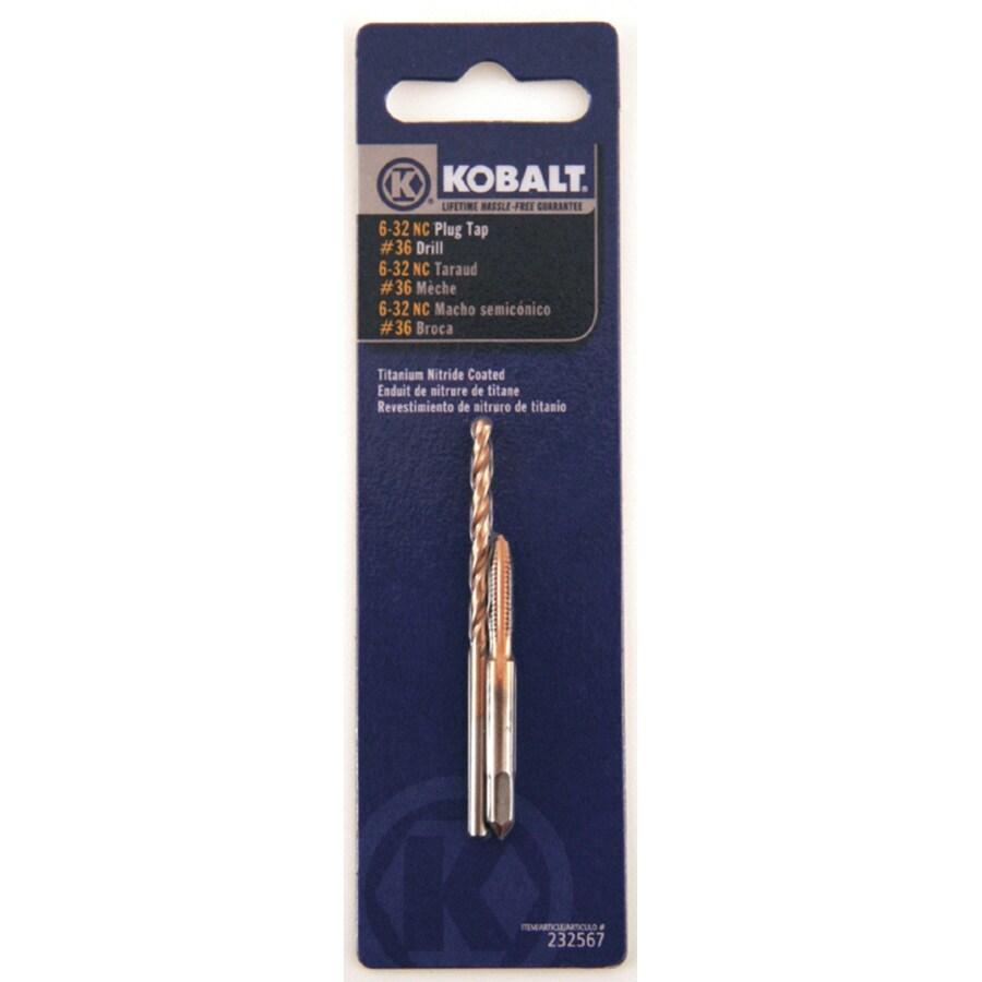Kobalt 6-32 Steel Wrench Tap