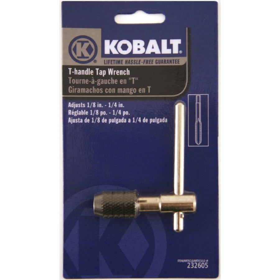 Kobalt 1 8 1 4 Steel Wrench Tap. Shop Kobalt 1 8 1 4 Steel Wrench Tap at Lowes com