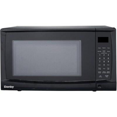 0 7 Cu Ft 700 Watt Countertop Microwave Black