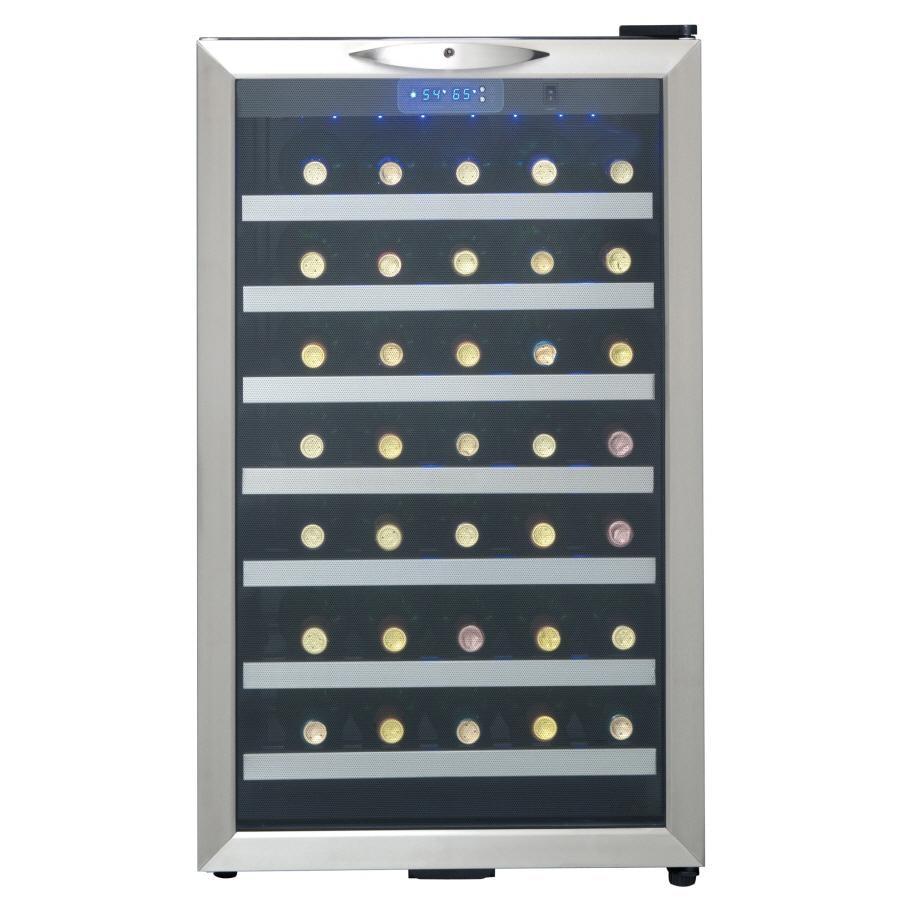 Danby Designer 45 Bottle Freestanding Wine Cooler At Lowes Com