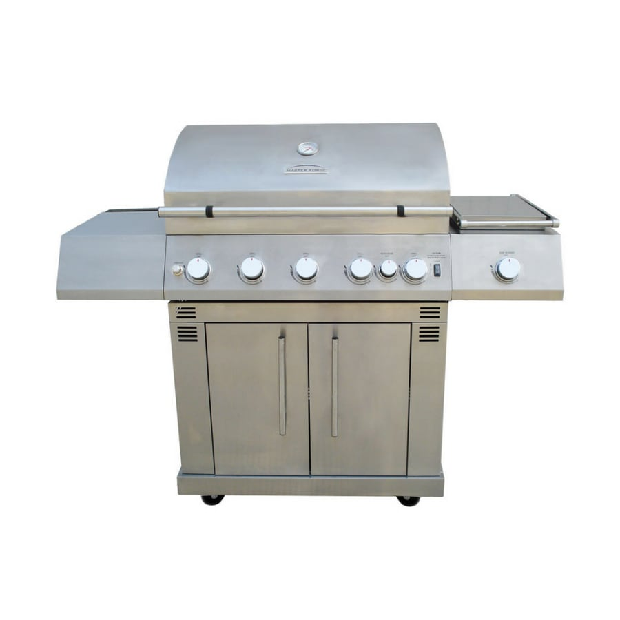 Master Forge Stainless Steel Gas Grill