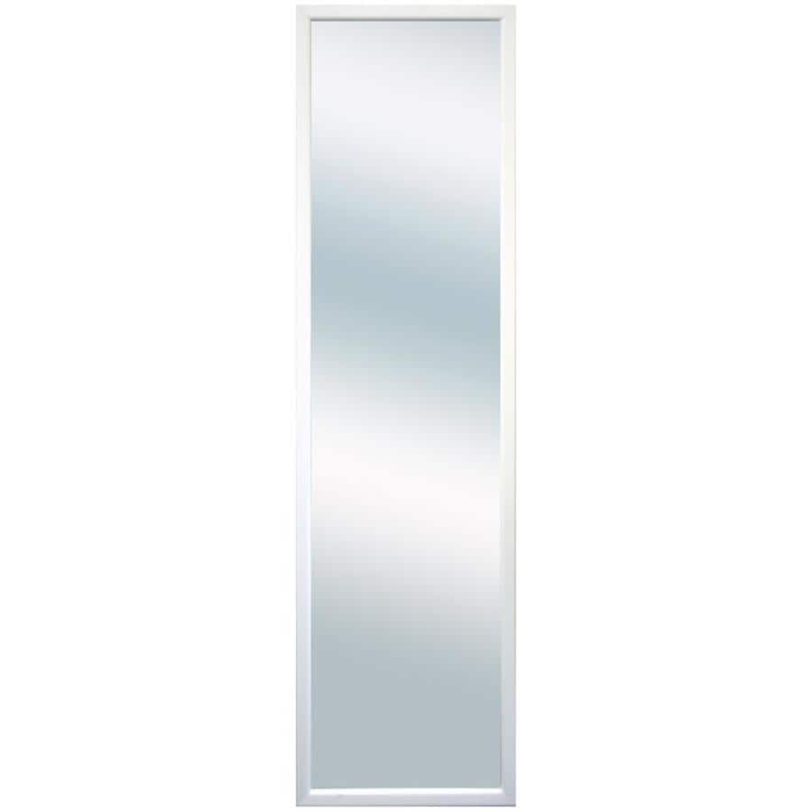 Value Door Mirror White Framed Door Mirror