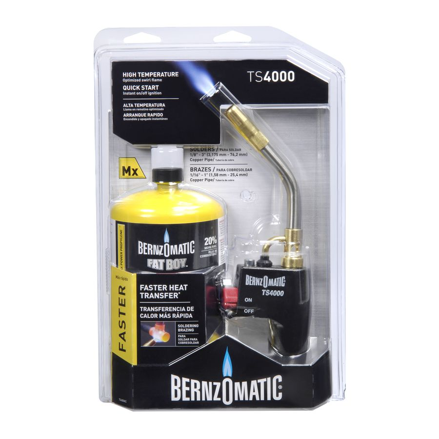 Bernzomatic Map Pro BernzOmatic TS4000KC Map Pro Kit at Lowes.com