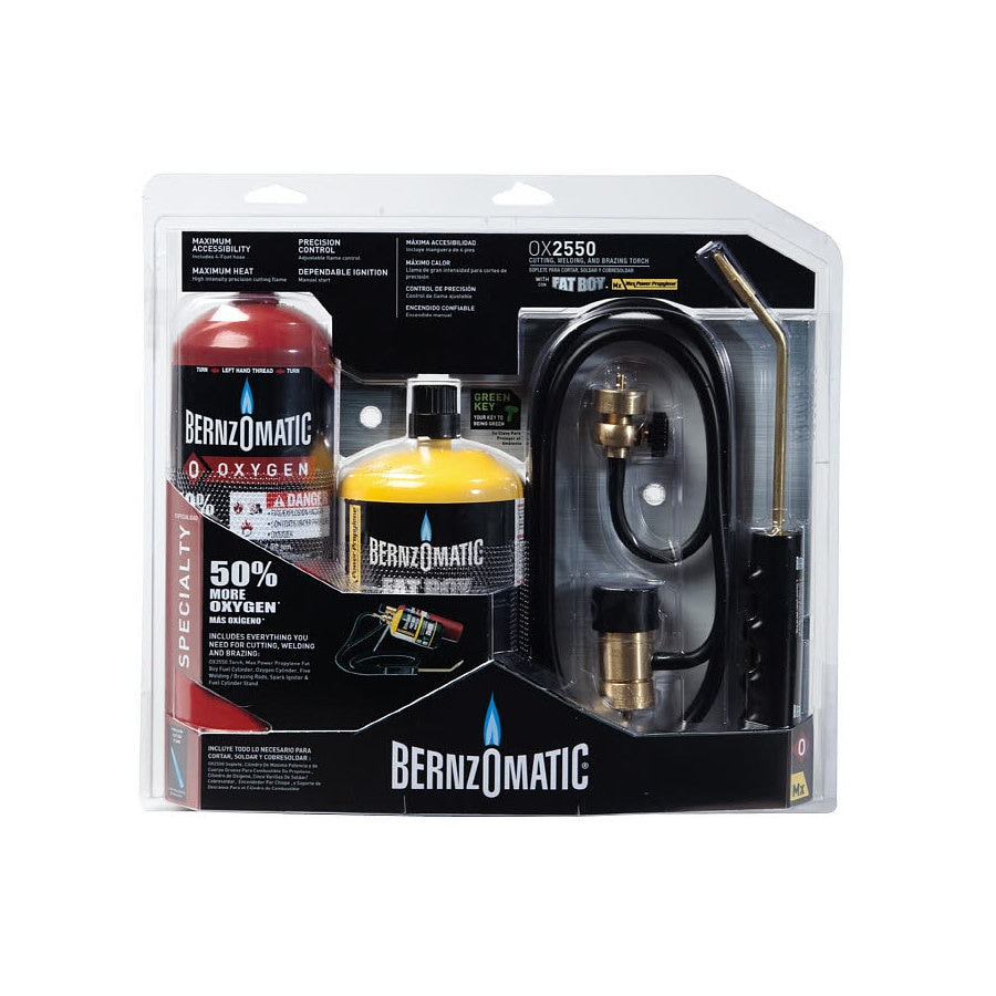 BernzOmatic OX2550KC OxyMap Torch Kit