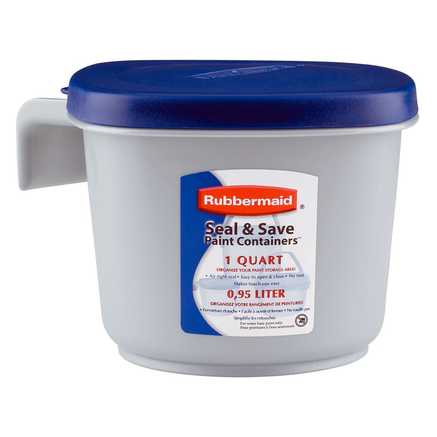 Shop Rubbermaid 1 Quart Plastic Bucket at Lowescom