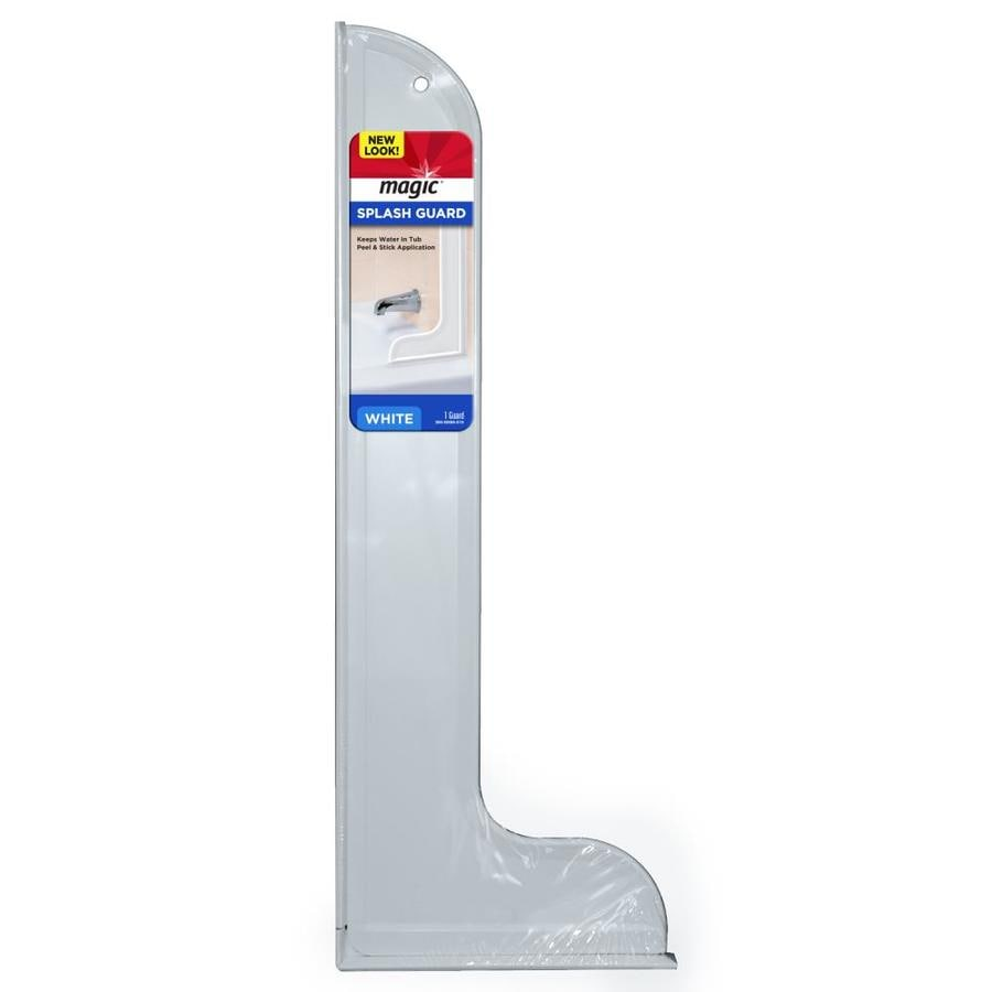 shop weiman products white splash guards at