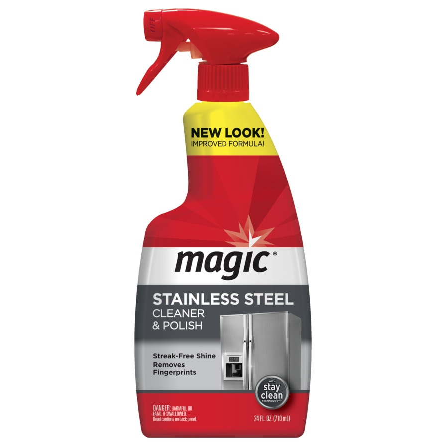 magic 24fl oz stainless steel cleaner