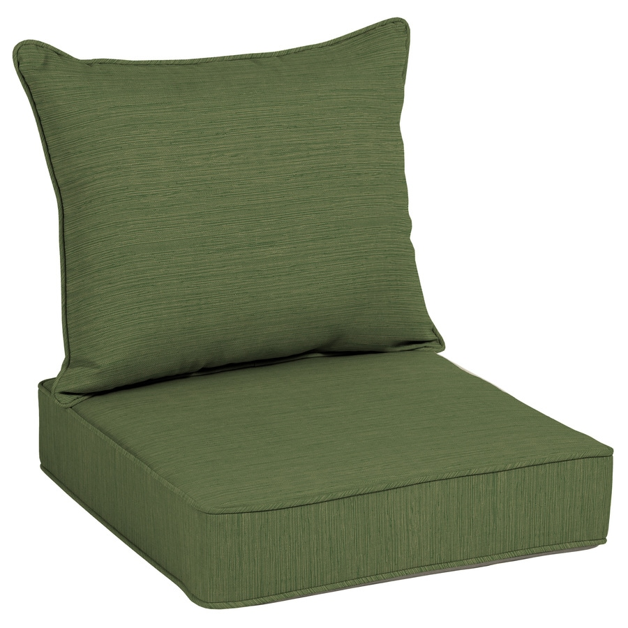 Awesome Allen + Roth Texture Deep Seat Patio Chair Cushion For Deep Seat Chair