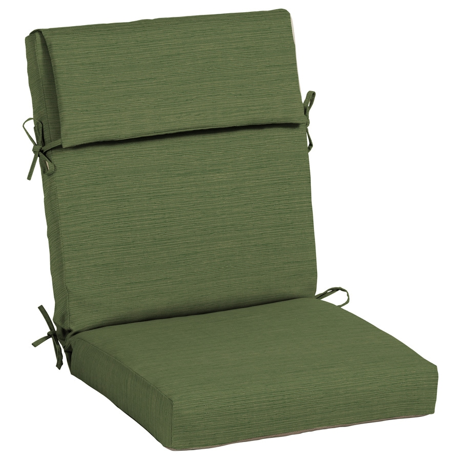 Allen + roth Neverwet High Back Patio Chair Cushion at ...