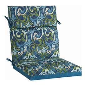 High Back Patio Chair Cushion Patio Furniture Cushions At Lowes Com