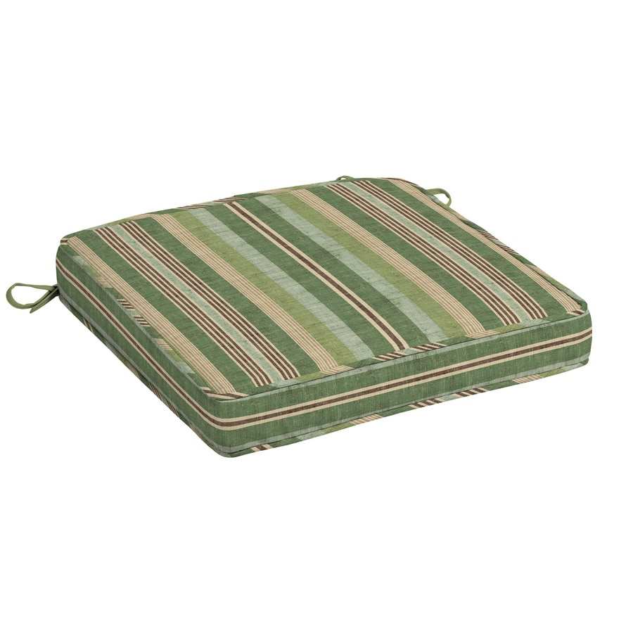 allen + roth Striped Seat Pad