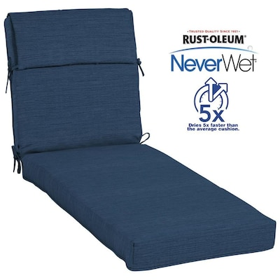 Swell Neverwet 1 Piece Navy Patio Chaise Lounge Chair Cushion Ocoug Best Dining Table And Chair Ideas Images Ocougorg