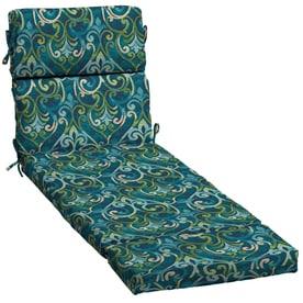 58aad03a95920 Garden Treasures 1-Piece Salito Marine Patio Chaise Lounge Chair Cushion
