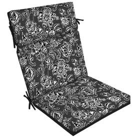 High Back Patio Chair Cushion Patio Furniture Cushions At Lowes Com