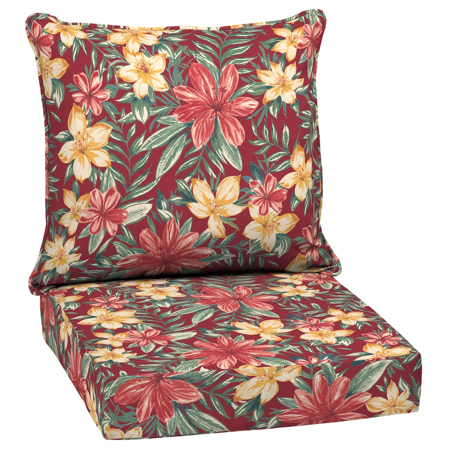 Arden Selections 2 Piece Ruby Clarissa Tropical Deep Seat