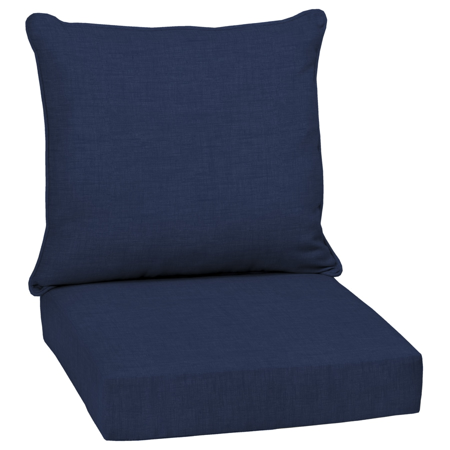 Arden Selections 46 5 In X 24 In Outdoor Deep Seat Cushion Set At
