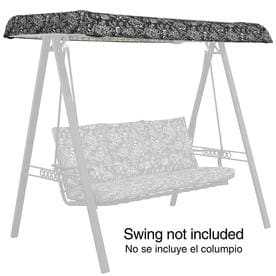 Garden Treasures Porch Swing Canopy  sc 1 st  Loweu0027s & Shop Porch Swing u0026 Glider Canopies at Lowes.com