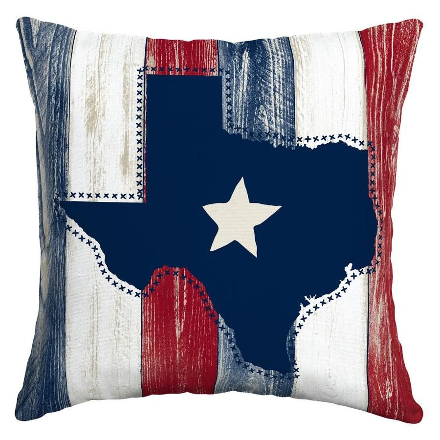 Arden Outdoor Texas Strong Throw Pillow At Lowes Com