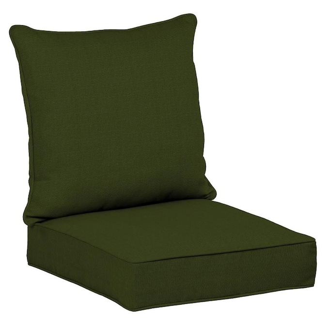 Roth 2 Piece Panama Green Deep Seat, Deep Seat Patio Cushions
