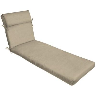 Awe Inspiring Madera Linen Wheat Madera Linen Wheat Patio Chaise Lounge Chair Cushion Short Links Chair Design For Home Short Linksinfo