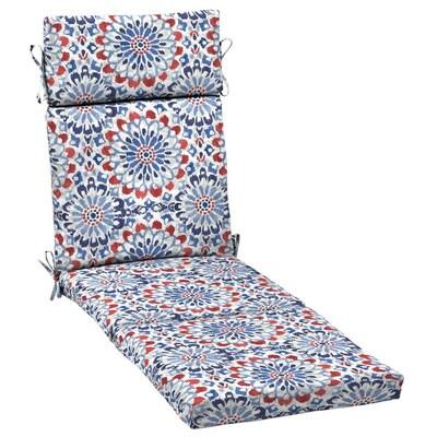 Brilliant Red White Blue Clark Patio Chaise Lounge Chair Cushion Cjindustries Chair Design For Home Cjindustriesco