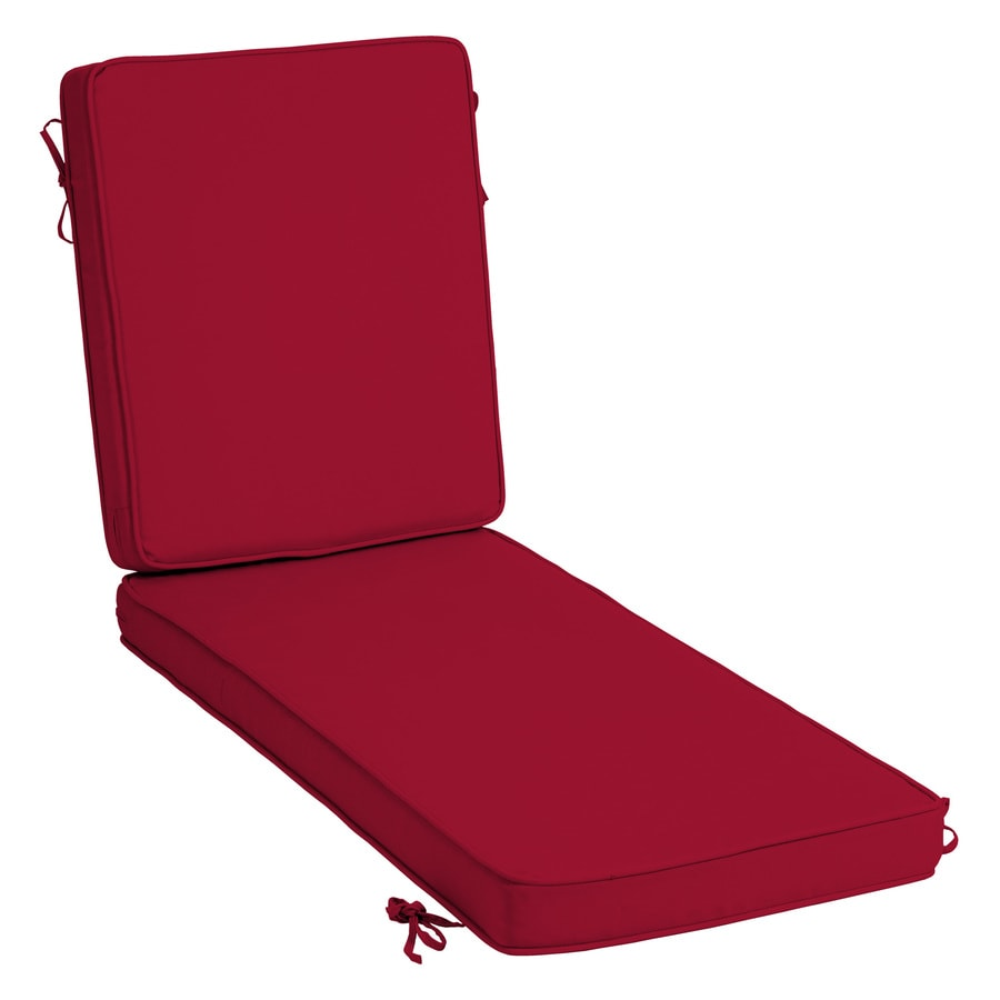 Arden Selections Profoam Caliente Patio Chaise Lounge Chair Cushion In The Patio Furniture Cushions Department At Lowes Com