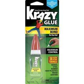 Krazy Glue EZ Squeeze 0.14-fl oz Super Glue Clear Multipurpose Adhesive