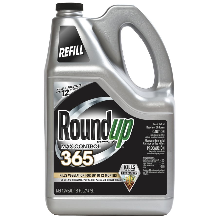 Roundup 1.25-Gallon Ready-to-Use Max Control Vegetation Killer Refill