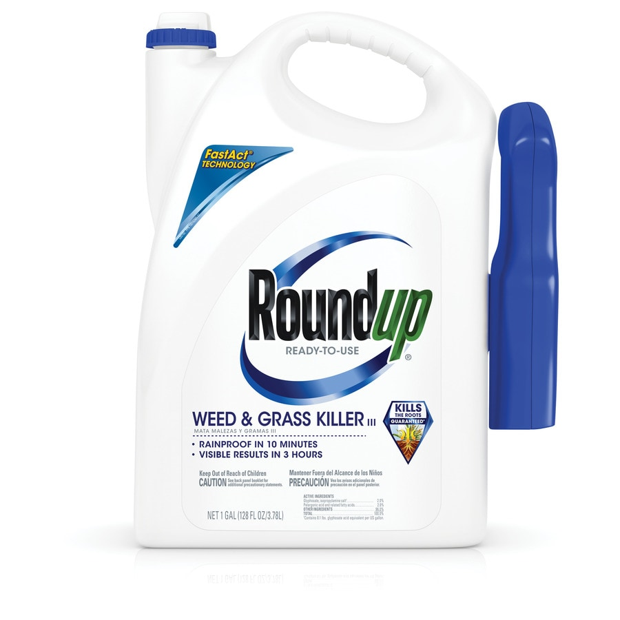 Roundup 1-Gallon Ready-to-Use Weed and Grass Killer Trigger Sprayer