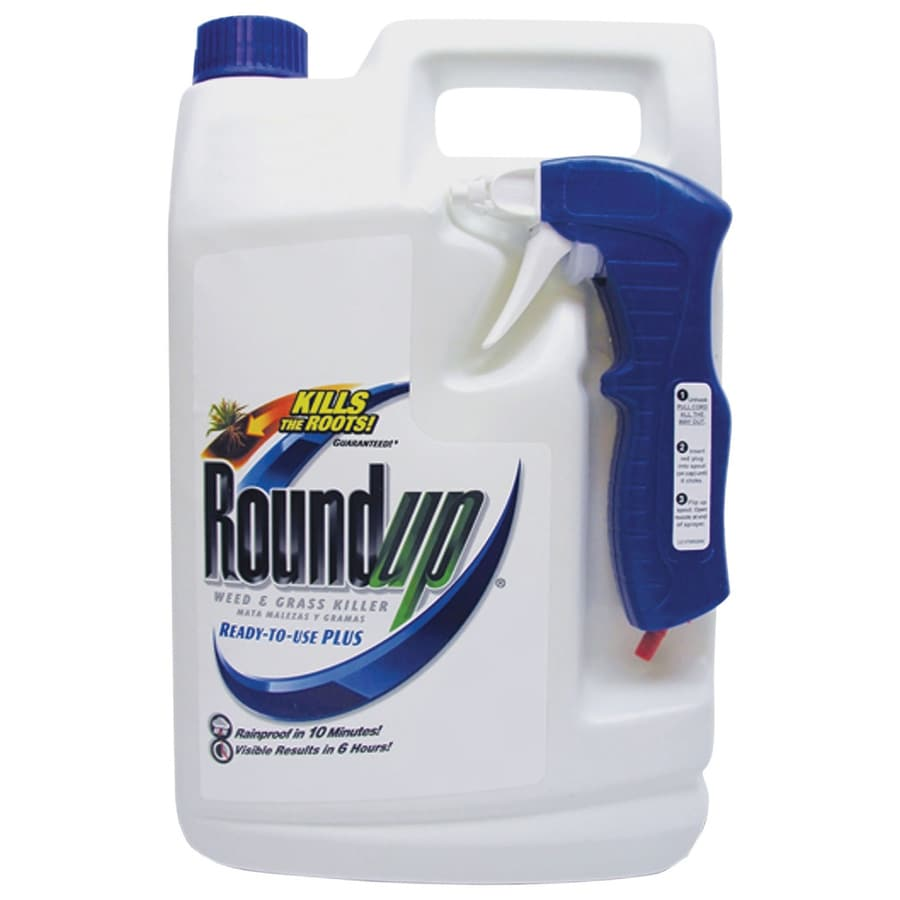 Roundup 128-oz Grass and Weed Killer Ready-to-Use