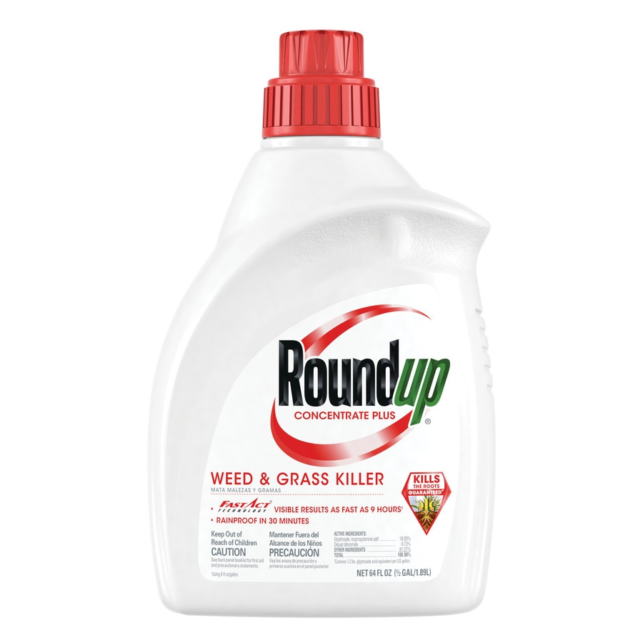 Roundup Concentrate 64-oz Roundup Weed and Grass Killer Concentrate
