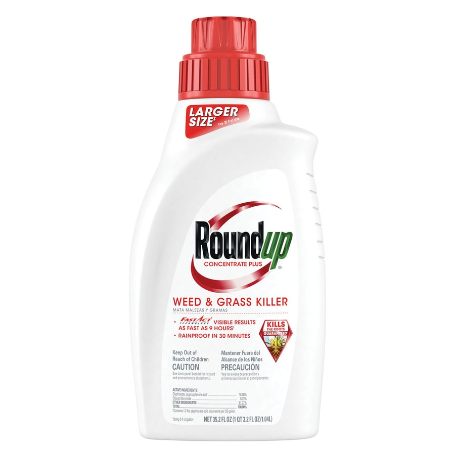 Roundup Plus 35.2-oz Concentrate Weed & Grass Killer