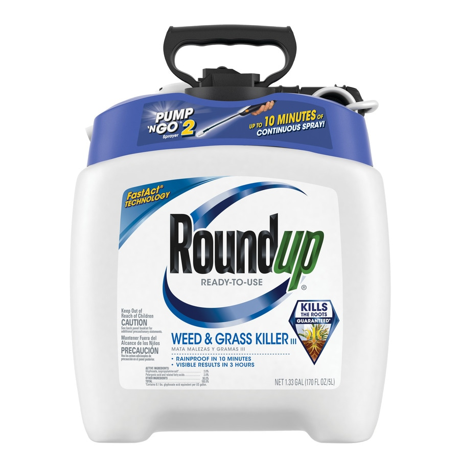 Roundup Pump and Go 170.24-oz Weed and Grass Killer