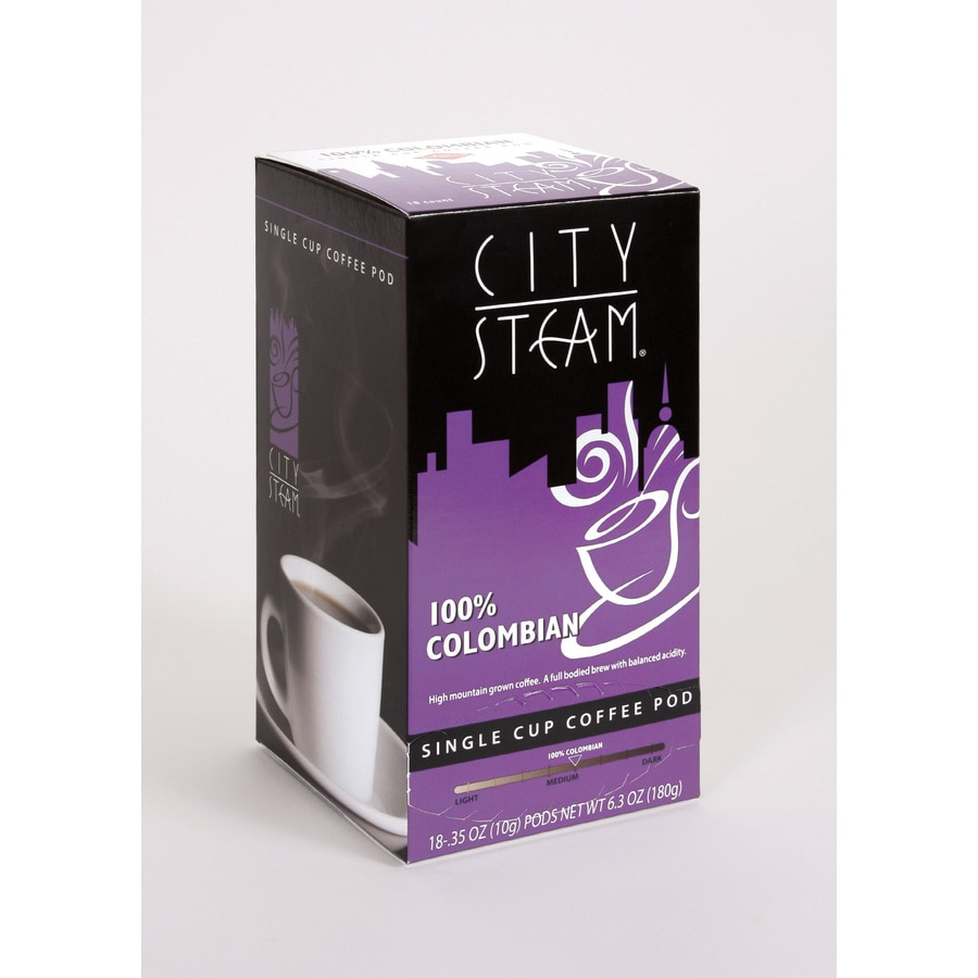 City Steam 18-Pack Columbian Blend Single-Serve Coffee