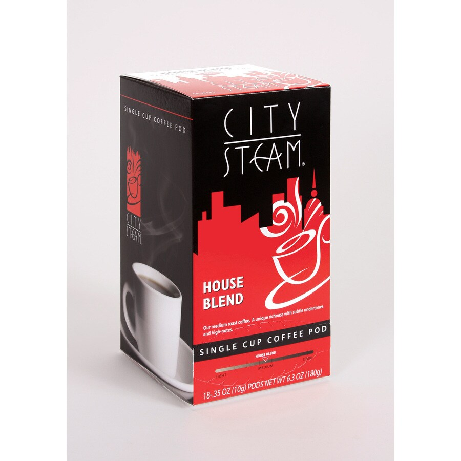 City Steam 18-Pack Regular Blended Single-Serve Coffee