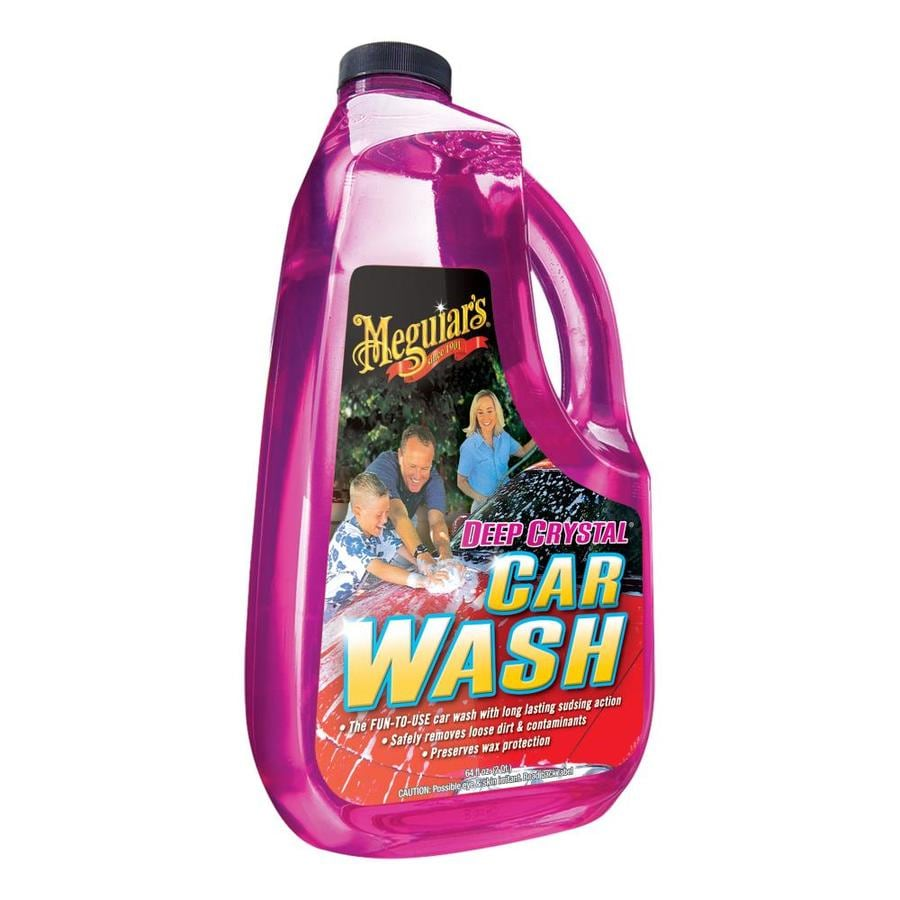 Meguiar's Deep Crystal Car Wash 64-fl oz Car Exterior Cleaner