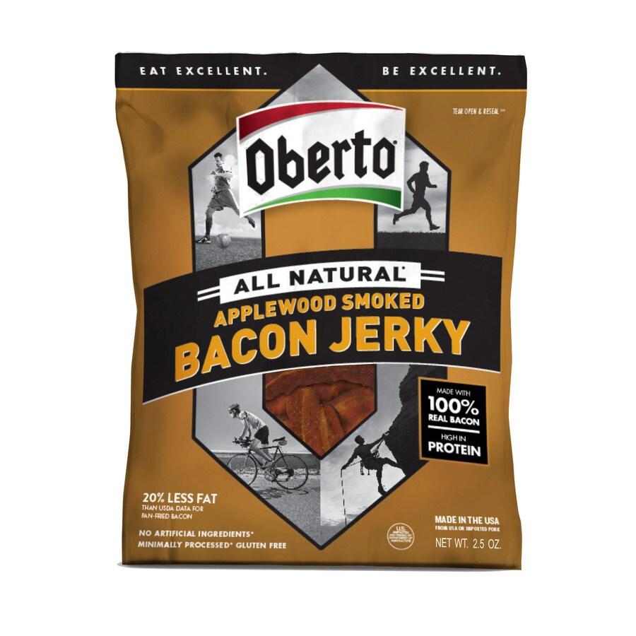 Oberto 2.5-oz Bacon Jerky Meat Snacks