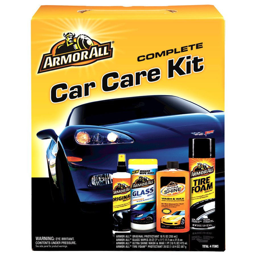 Armor All 4-Count Car Exterior Cleaner