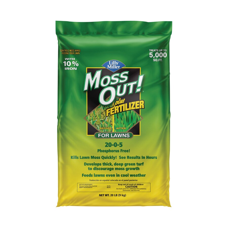 Moss Out! Grass and Weed Killer