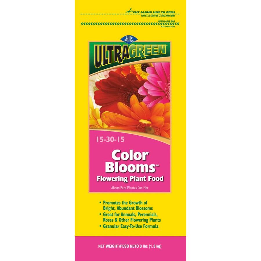 Ultragreen 3-lb Flower Food Granules