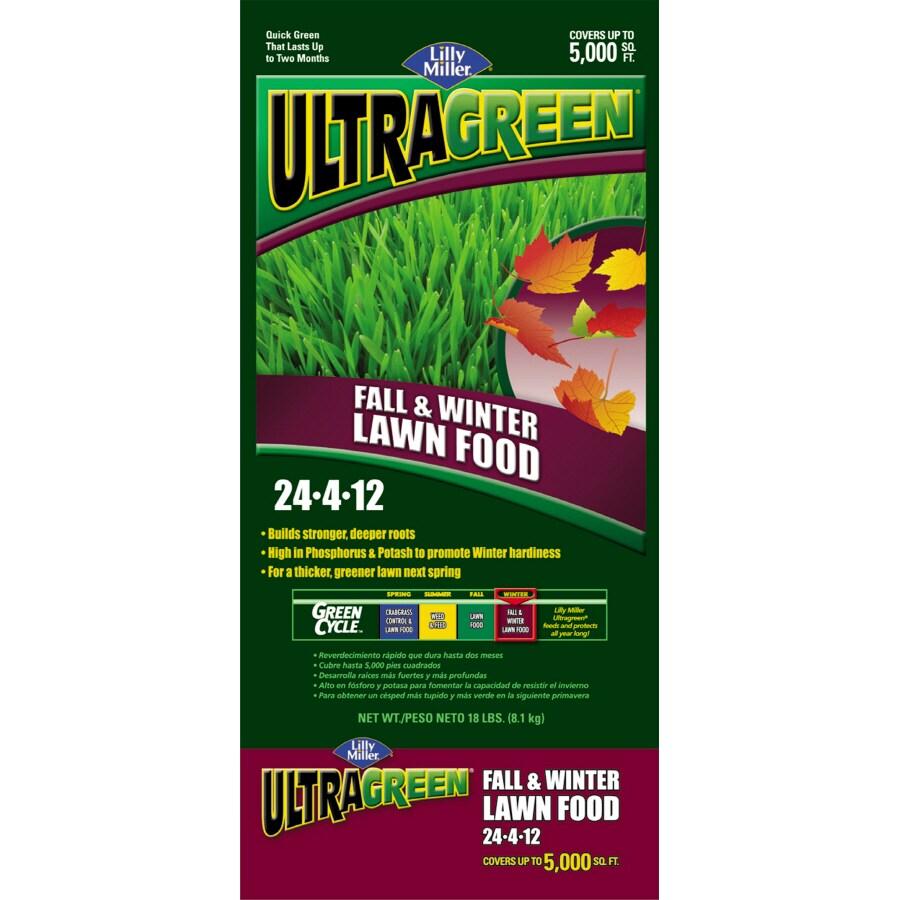 Lilly Miller 5M Ultragreen Fall/Winter Lawn Fertilizer (24-4-12)
