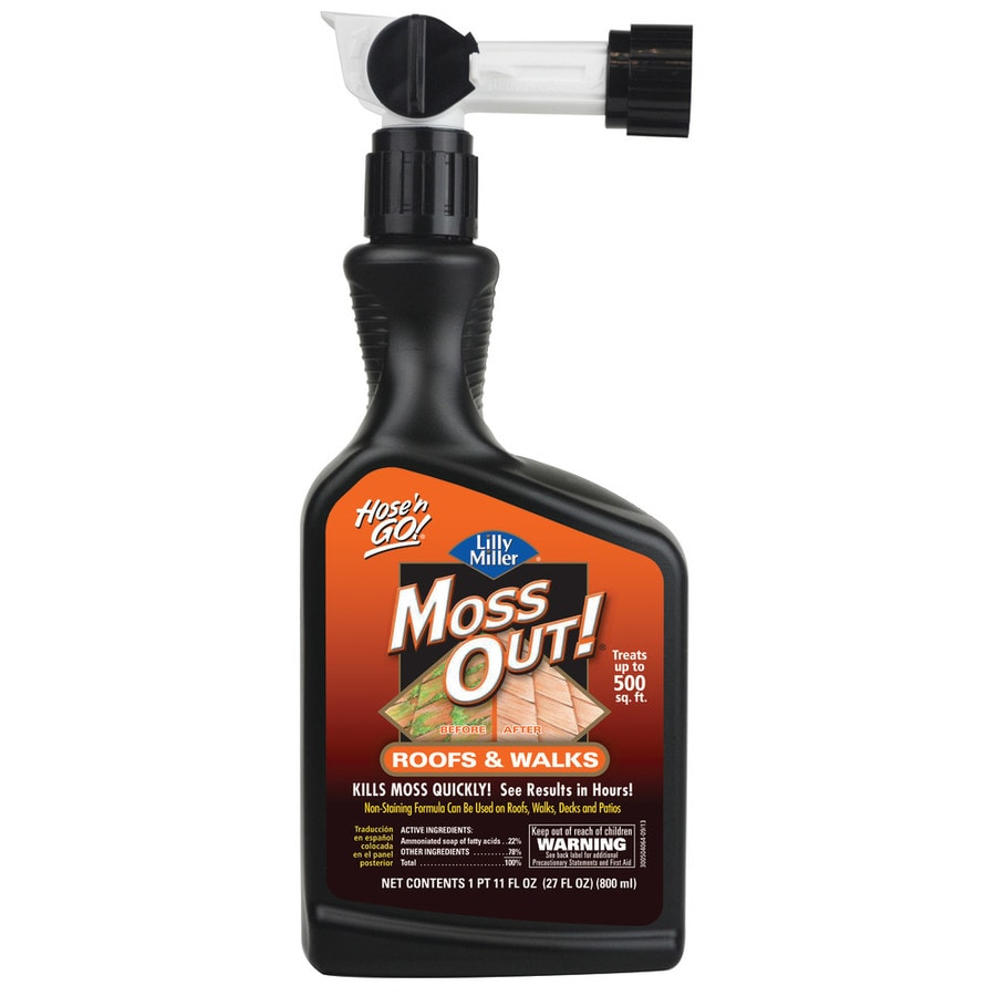 Moss Out! 27-oz Ready-To-Use Liquid Moss and Algae Control