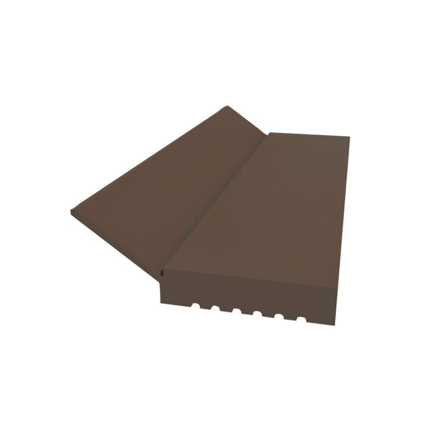 Royal Mouldings Limited 2 In X 9 Ft Brown PVC Garage Weatherstrip